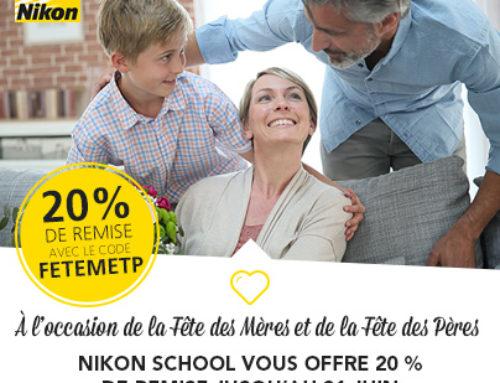 Promotion et nouveau stage à la Nikon School
