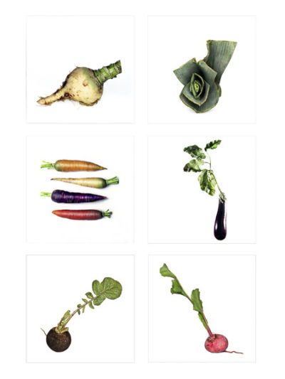 Photographe culinaire professionnelle en IDF, composition de légumes