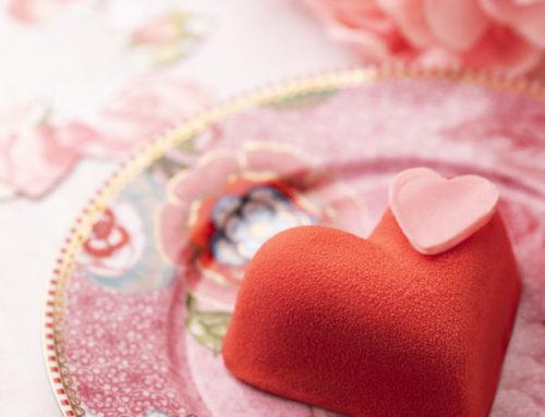 Des pâtisseries pour la Saint-Valentin