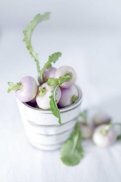 Photographie de légumes, navets